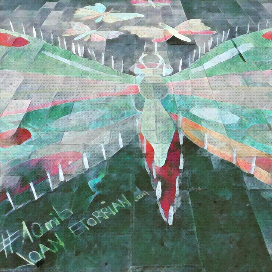 Aztarnak huellas #10mila Joan Etorrian Irantzu Lekue instalación artística