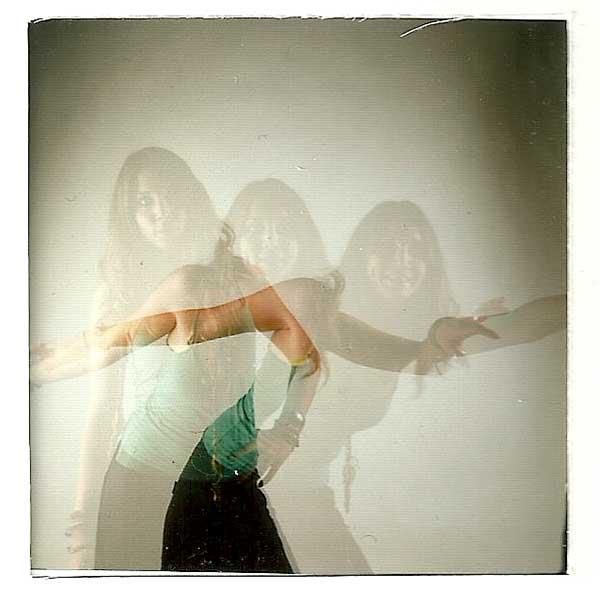Triple exposición. Polaroid. Procesos antiguos