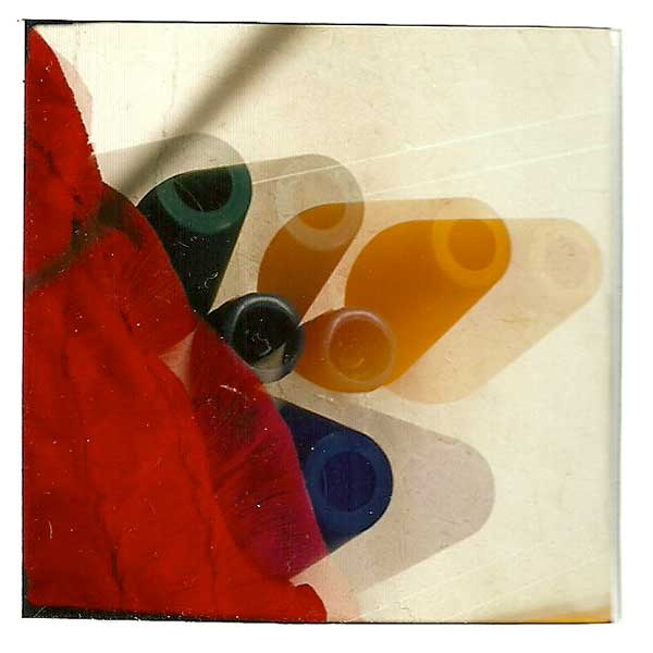 Triple exposición Polaroid. Procesos antiguos