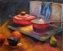 Bodegón pintura vasca