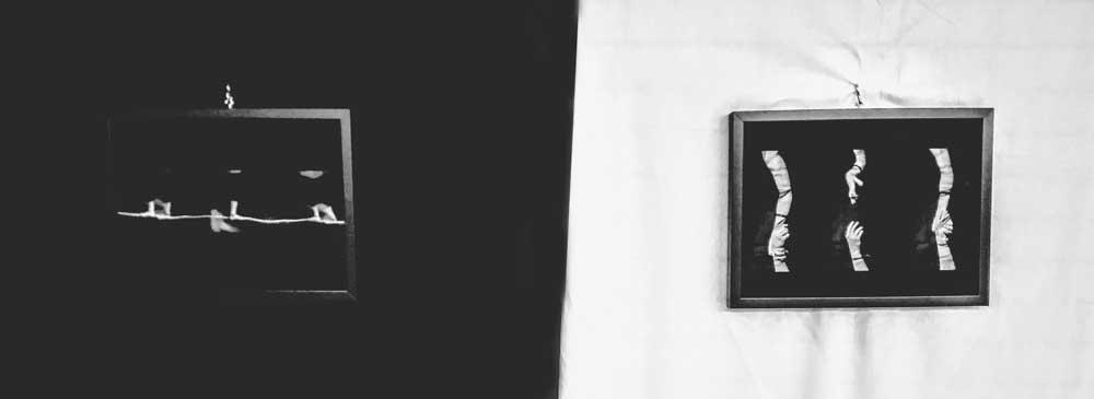 """""""En la cuerda floja"""" y """"Das la mano y te cogen el brazo"""" Foto-secuencias introspectivas."""