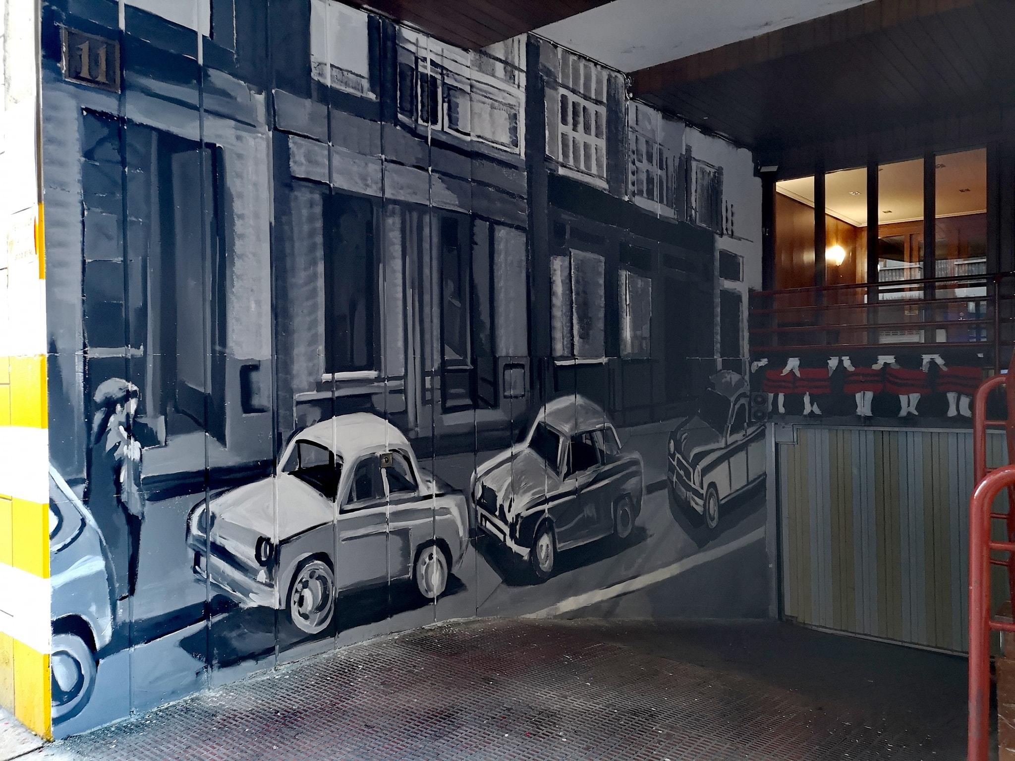 Exterior garaje C/ San Antonio Vitoria-Gasteiz