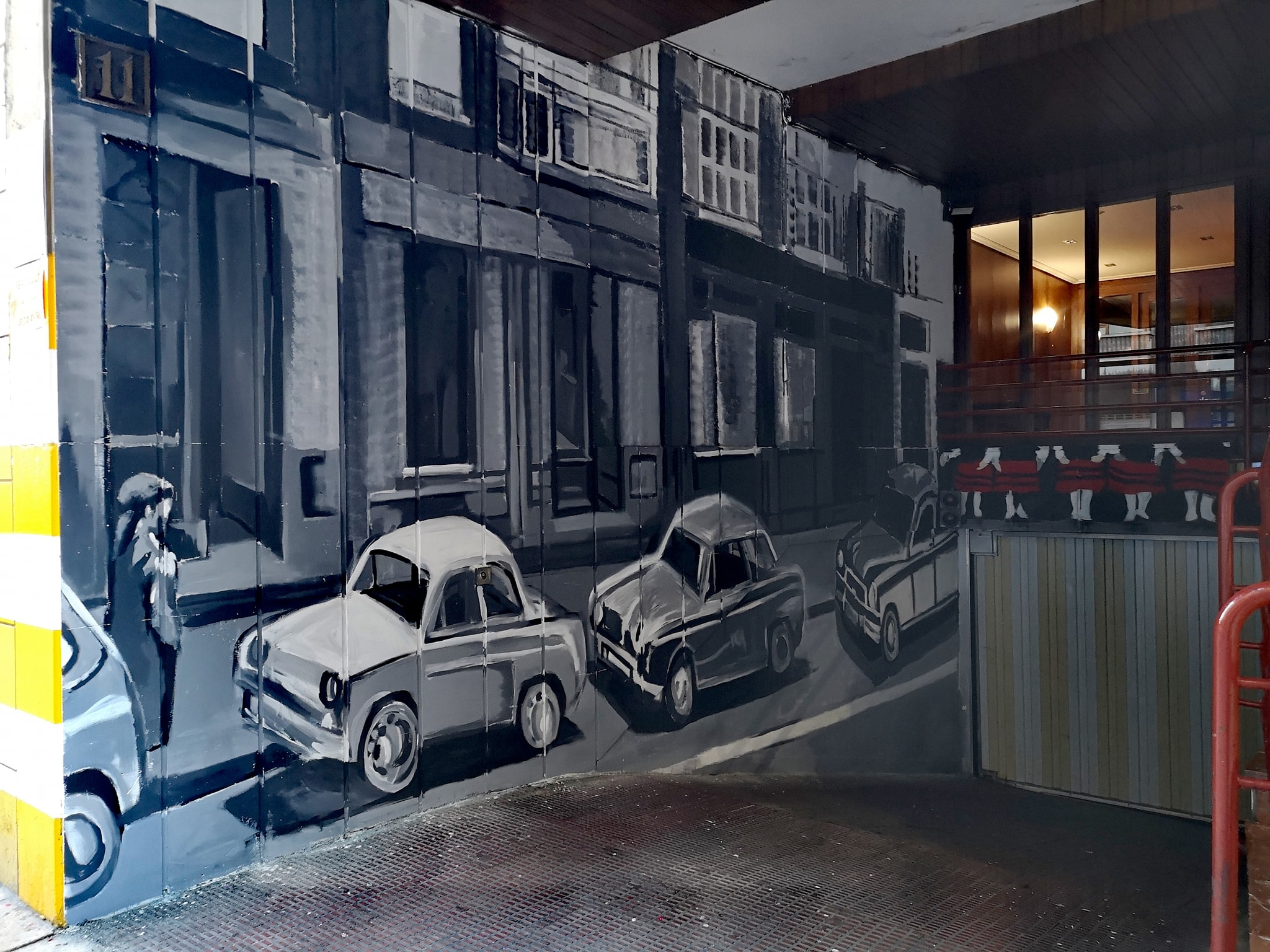 Mural Garaje #2