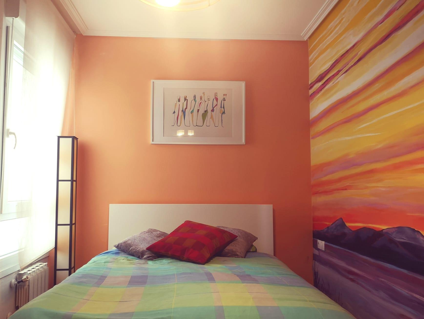 Mural personalizado Habitación vivienda - Urbina1