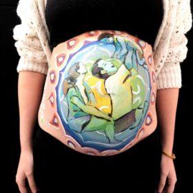 pintura embarazadas
