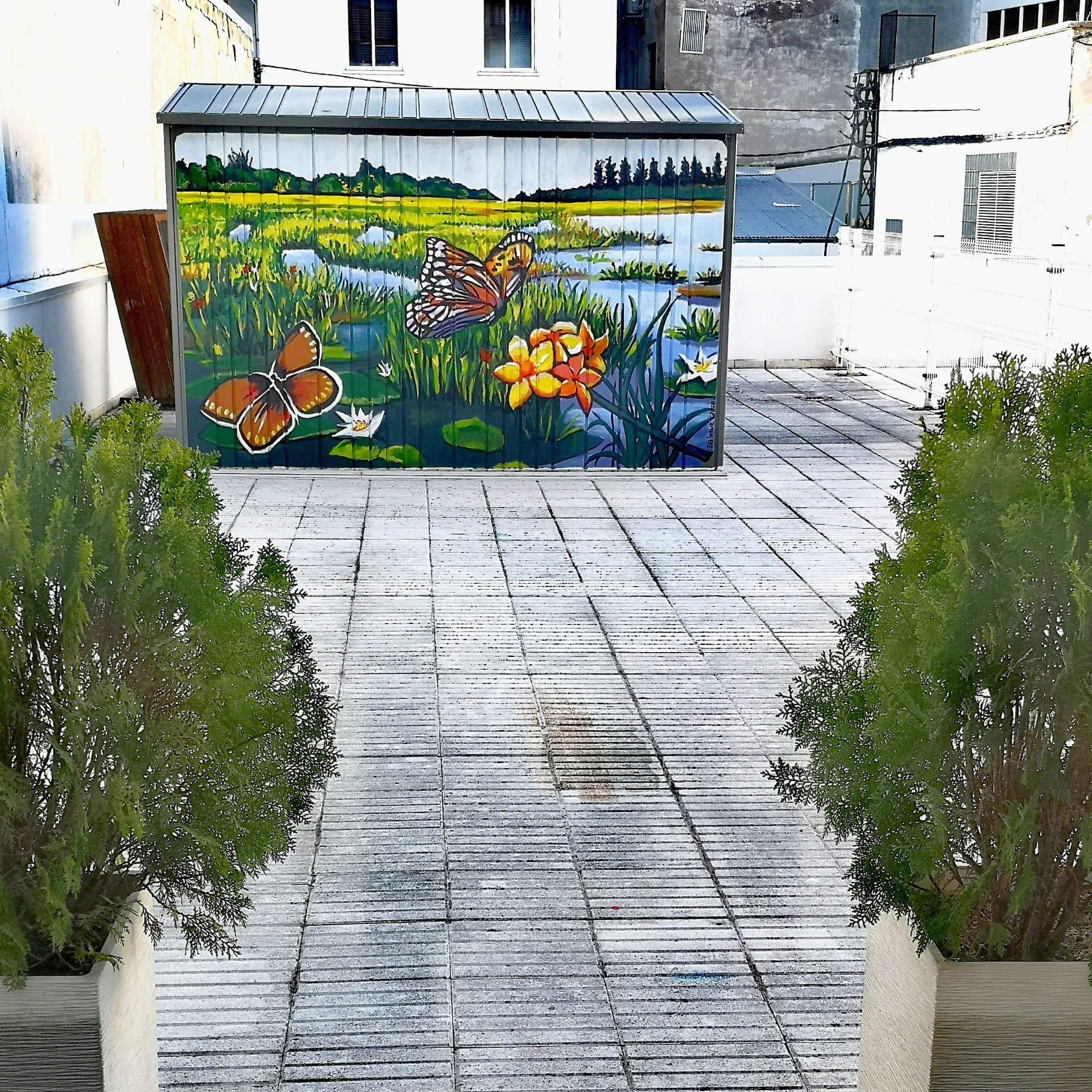 Terraza vivienda - Amárica2