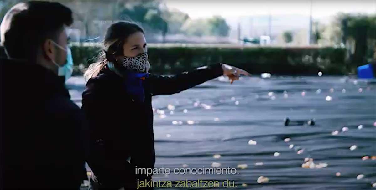 fotograma video Aztarna - Huella