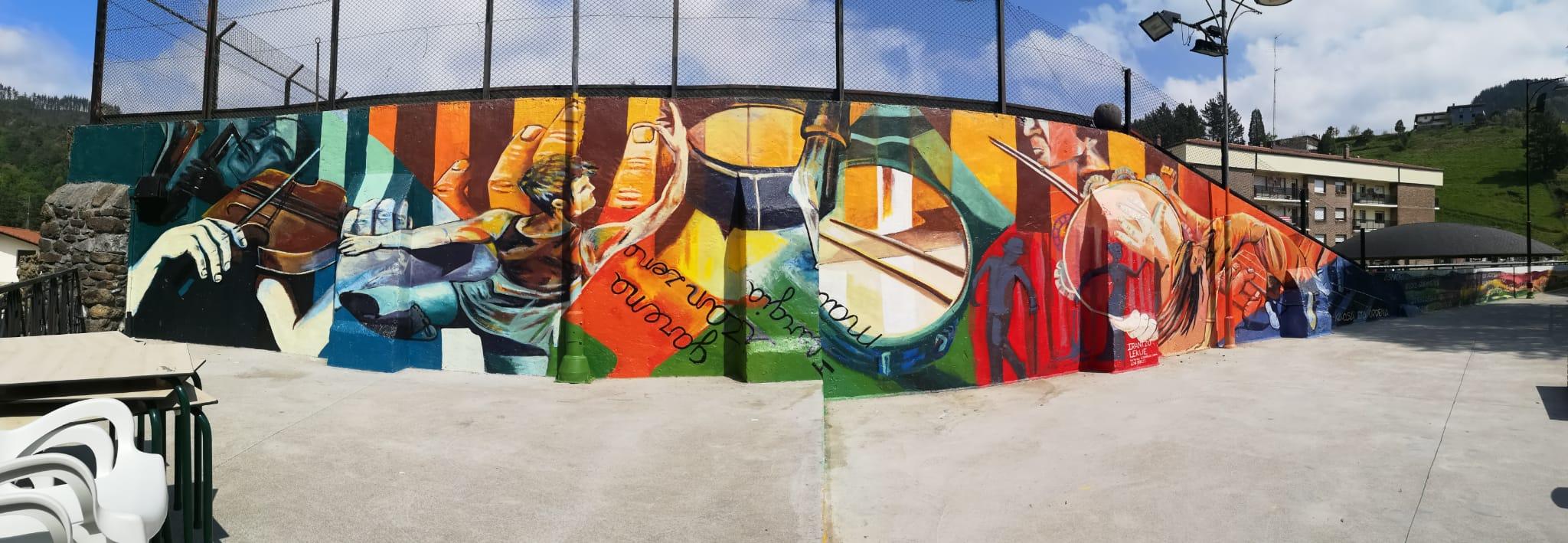 Mural en Berritxu